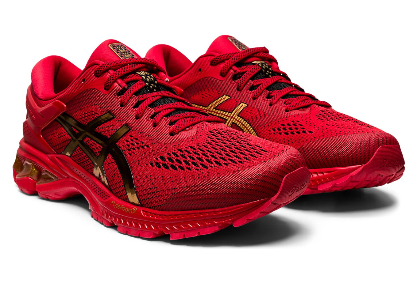 Asics Gel Kayano 26 Lucky Red