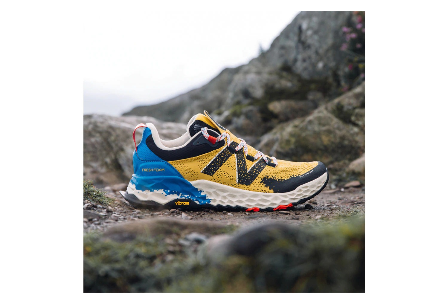 New Balance Fresh Foam Hierro V5 Amarillo Azul