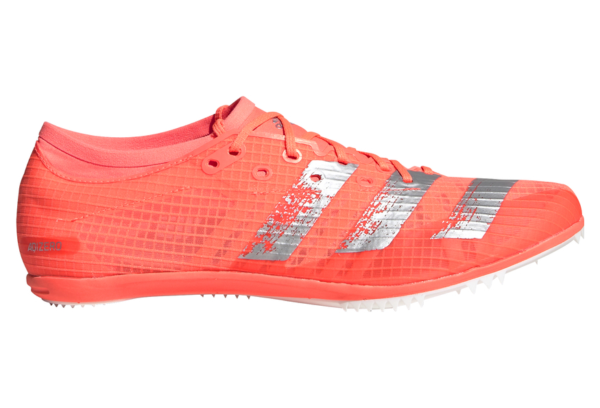 adidas adizero Ambition Orange Blanc Homme