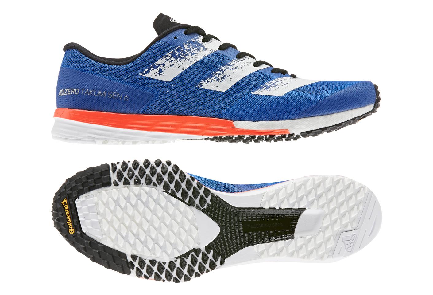 adidas adizero Takumi Sen 6 Blue Orange