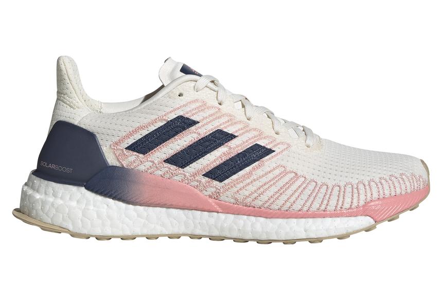 adidas Solar Boost 19 White Pink Women | Alltricks.com