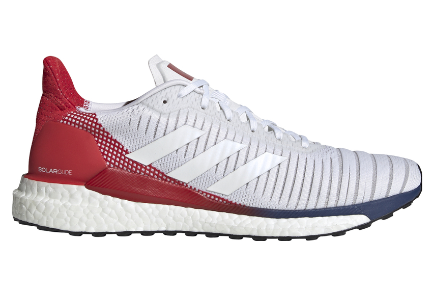 adidas Solar Glide 19 White Blue Red