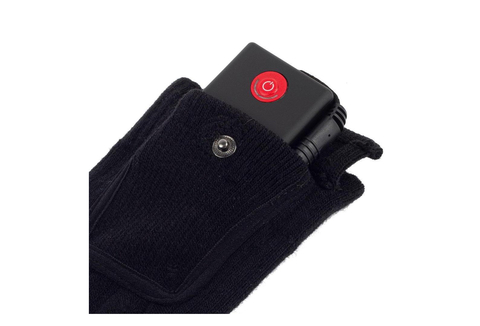 Glovii Chaussettes de Ski Batterie Chauff/ée 41-46 Noir T/él/écommande 35-46
