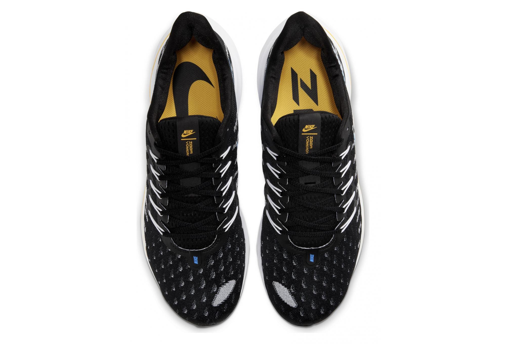 Nike Air Zoom Vomero 14 Black Blue Yellow Men |