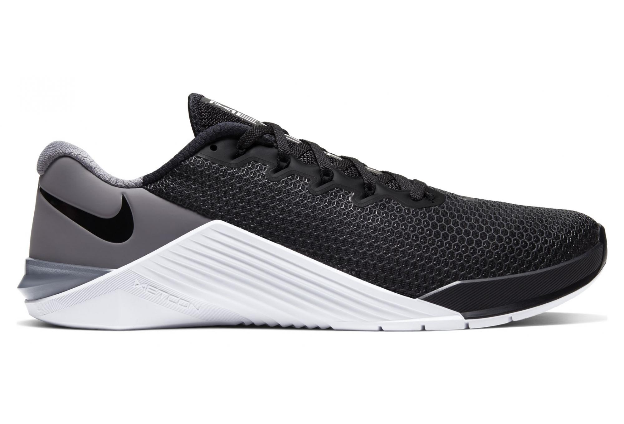 Nike Metcon 5 Black White Gum Men