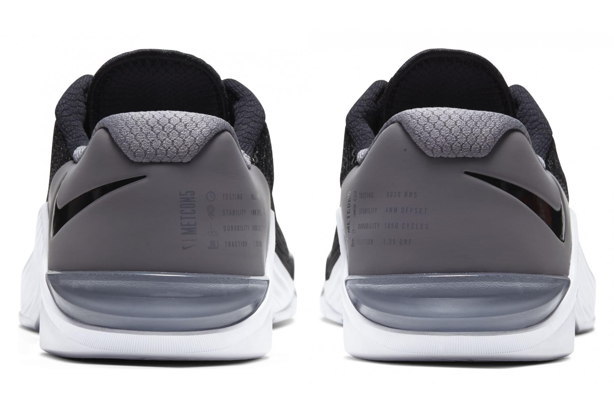 Nike Metcon 5 Noir Blanc Gum Homme