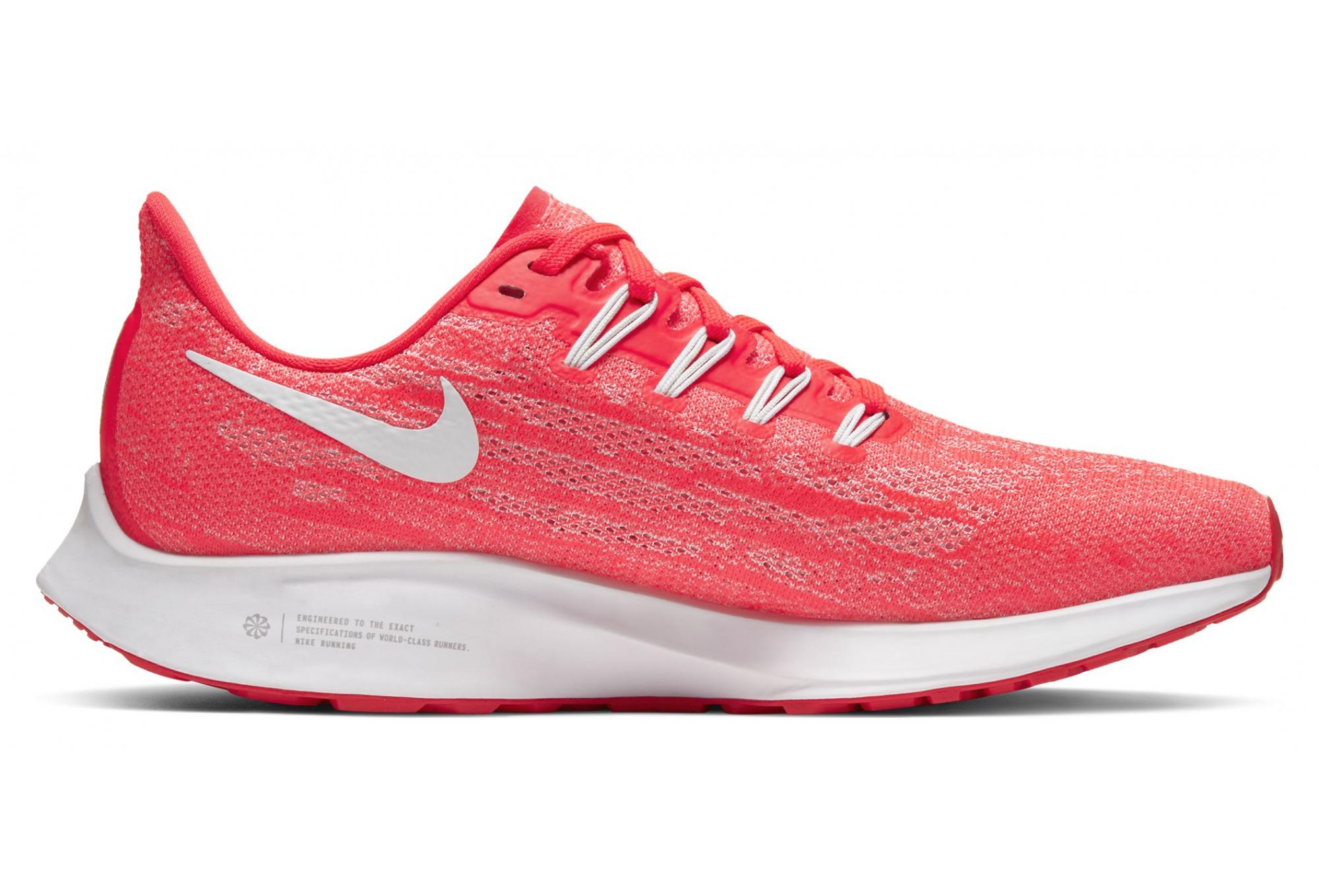 nike running femme rouge