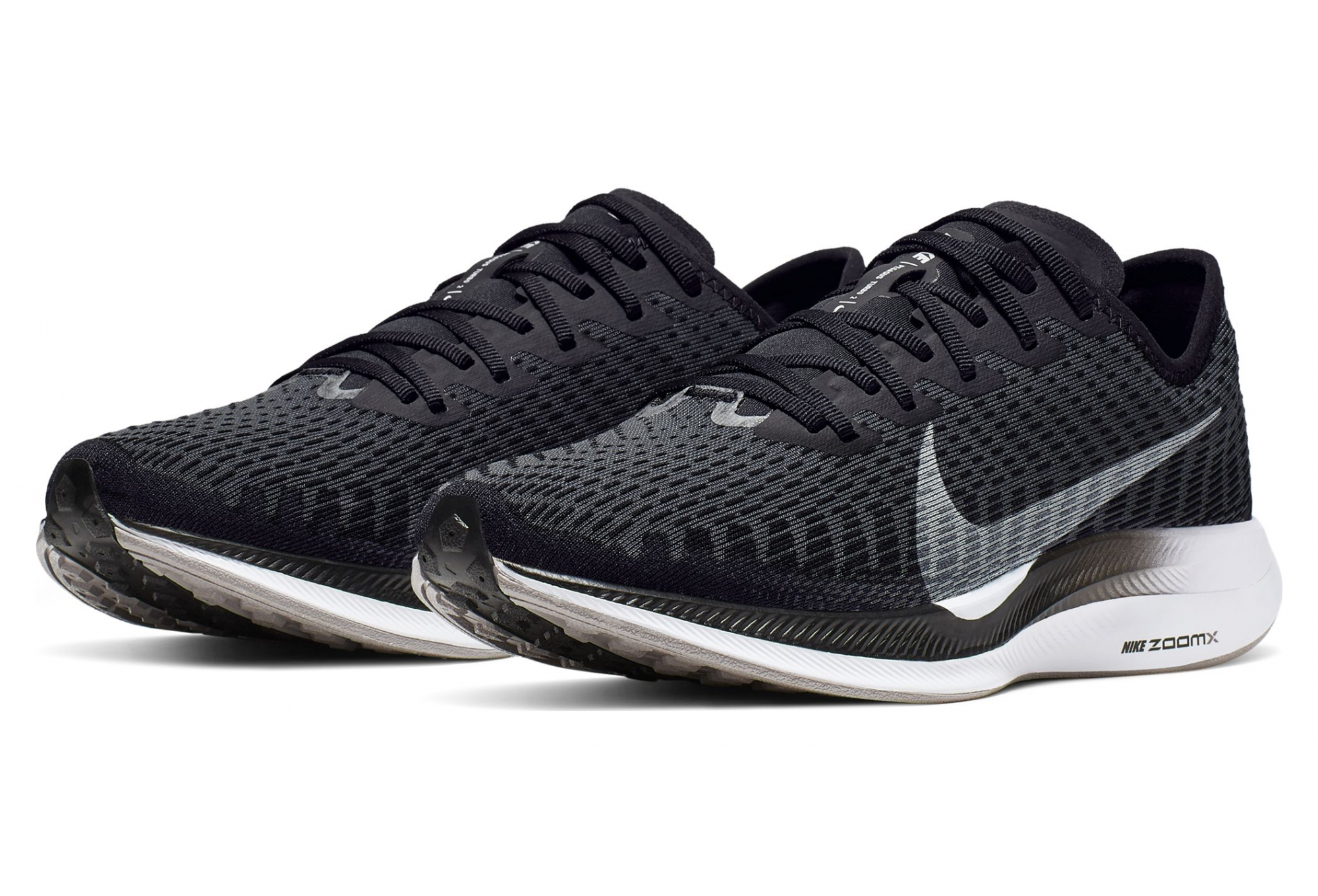 Nike Zoom Pegasus Turbo 2 Black White Women