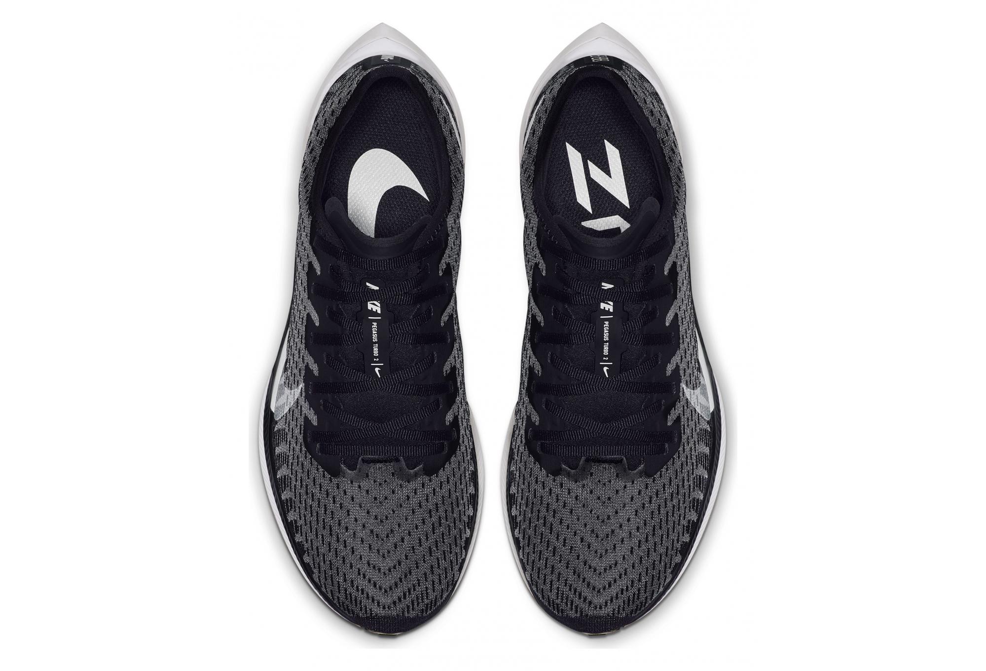 Nike Zoom Pegasus Turbo 2 Black White Women