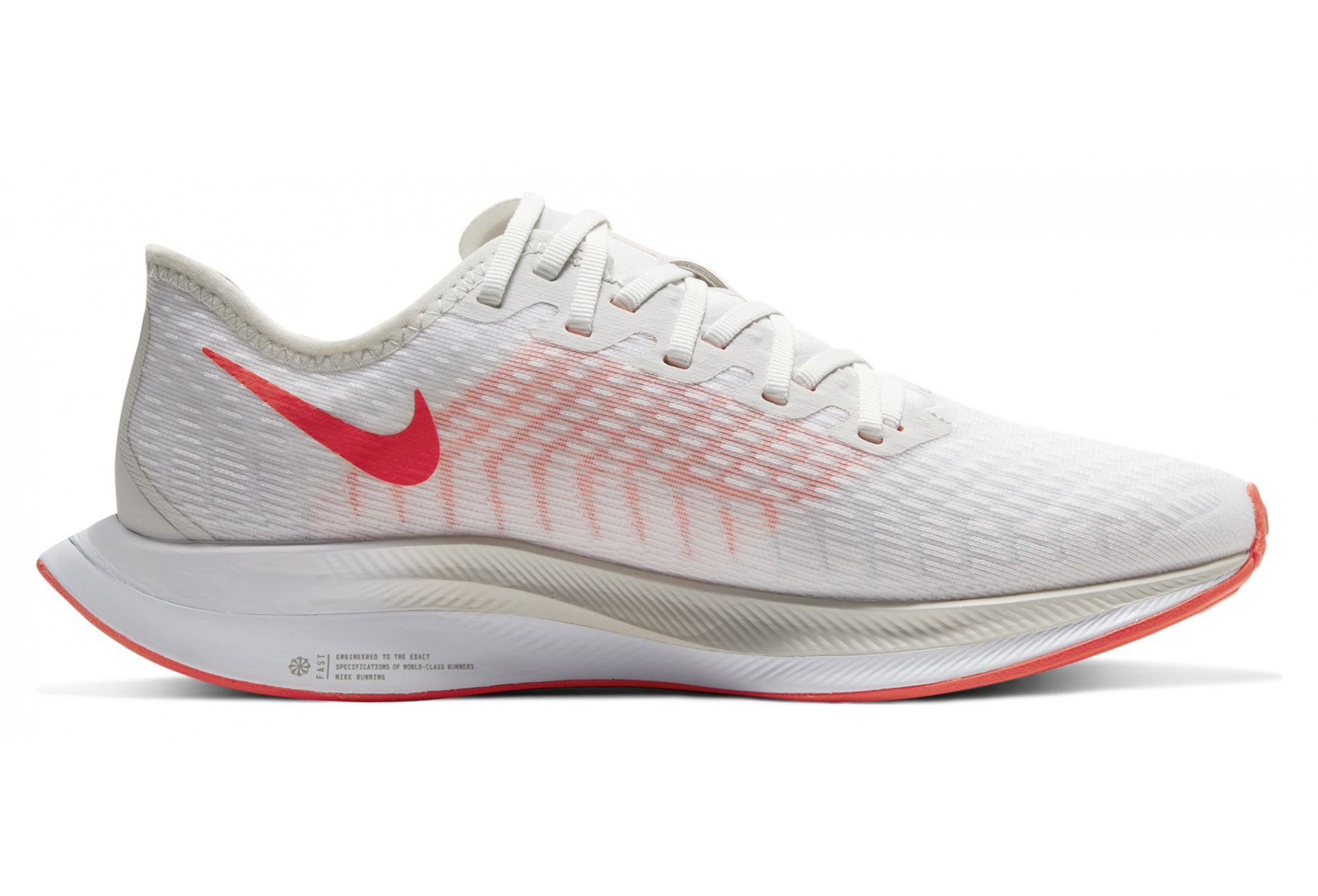 Nike Zoom Pegasus Turbo 2 White Red Women