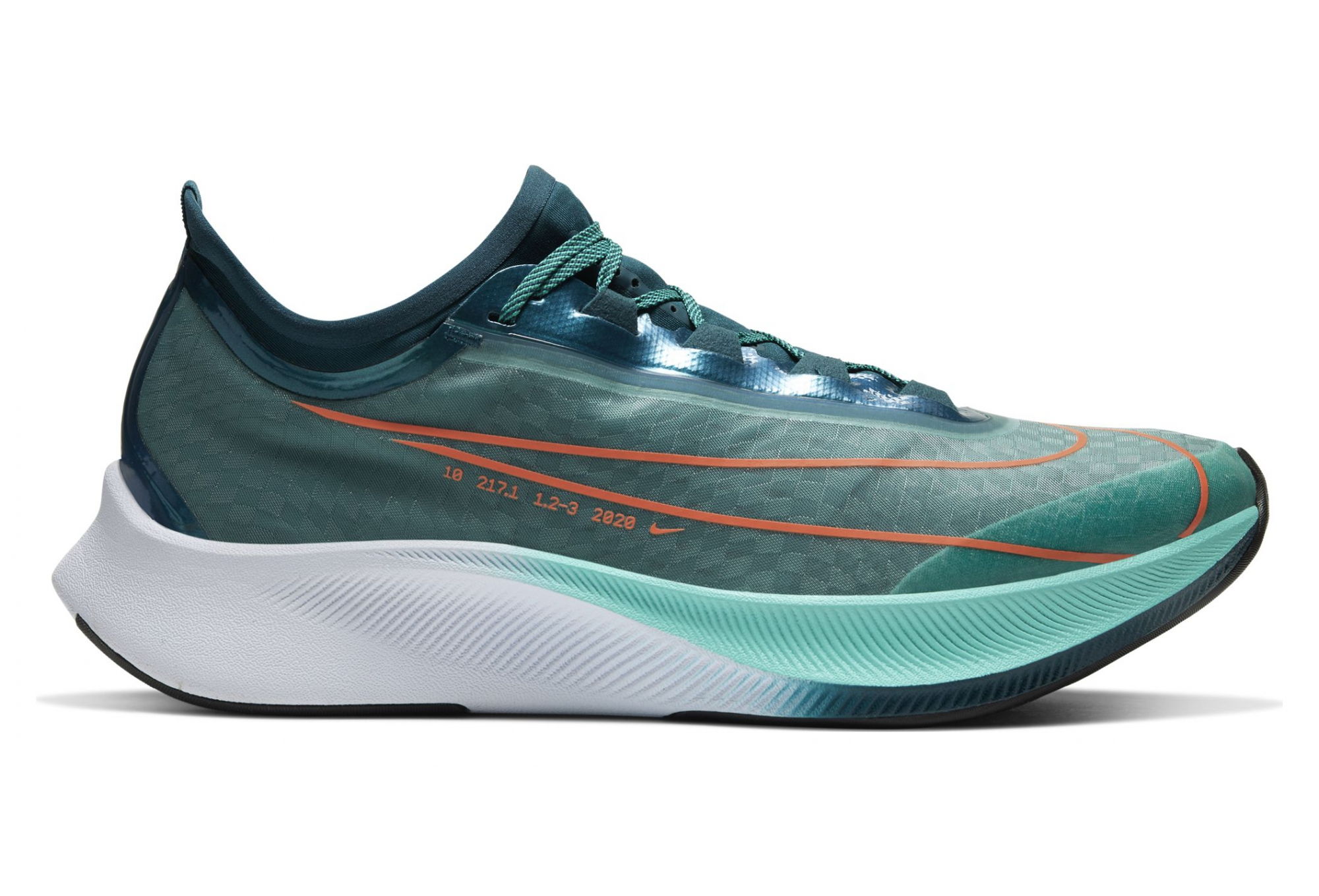 Nike Zoom Fly Nike Zoom Fly 3 Ekiden Blue Orange Men | Alltricks.com