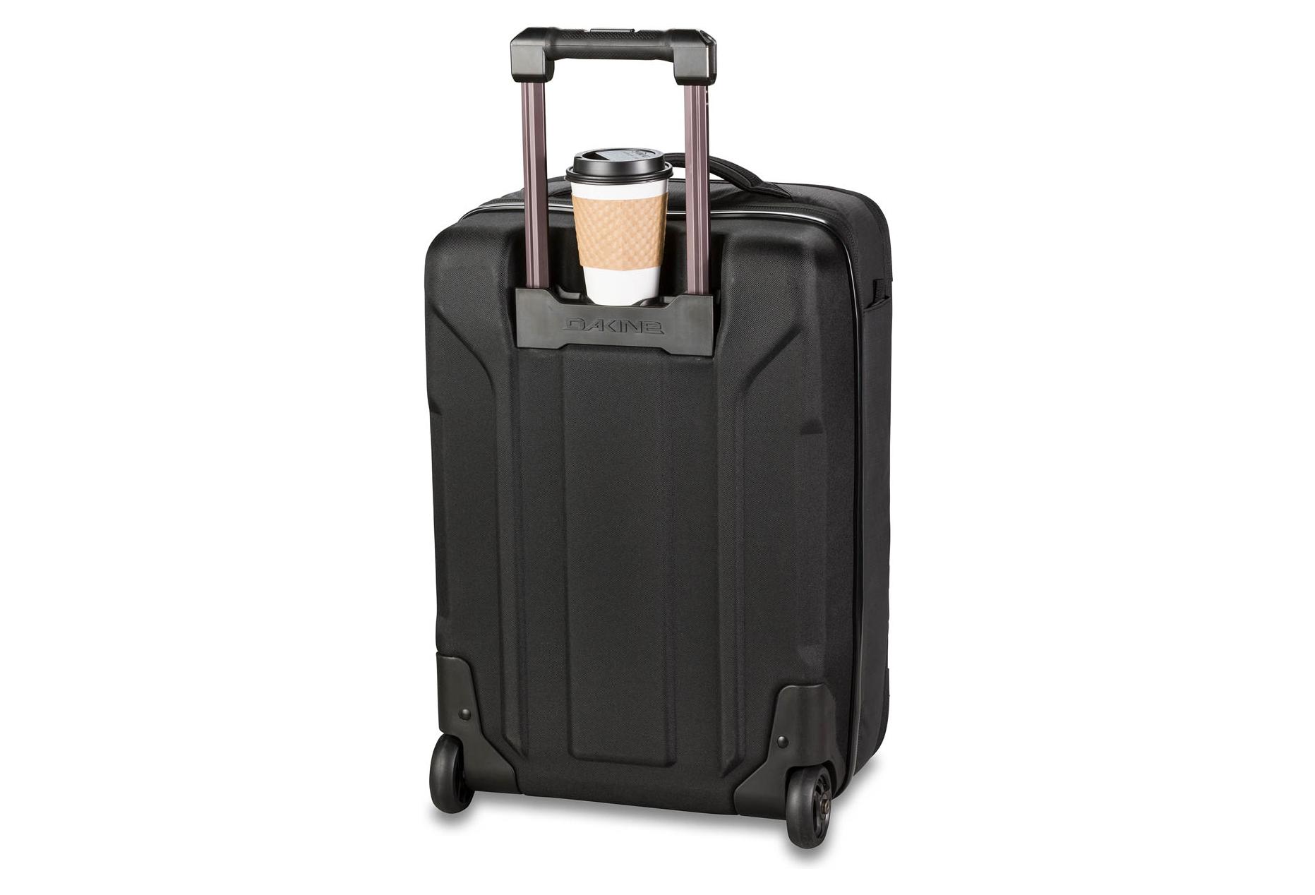 Black Dakine Unisex Terminal Spinner Wheeled Travel Bag
