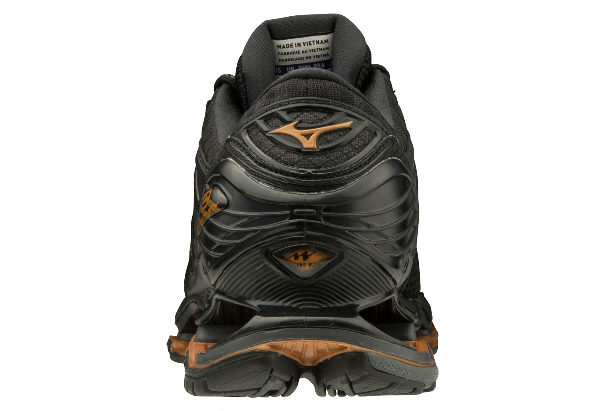 mizuno wave rider 21 black gold 80