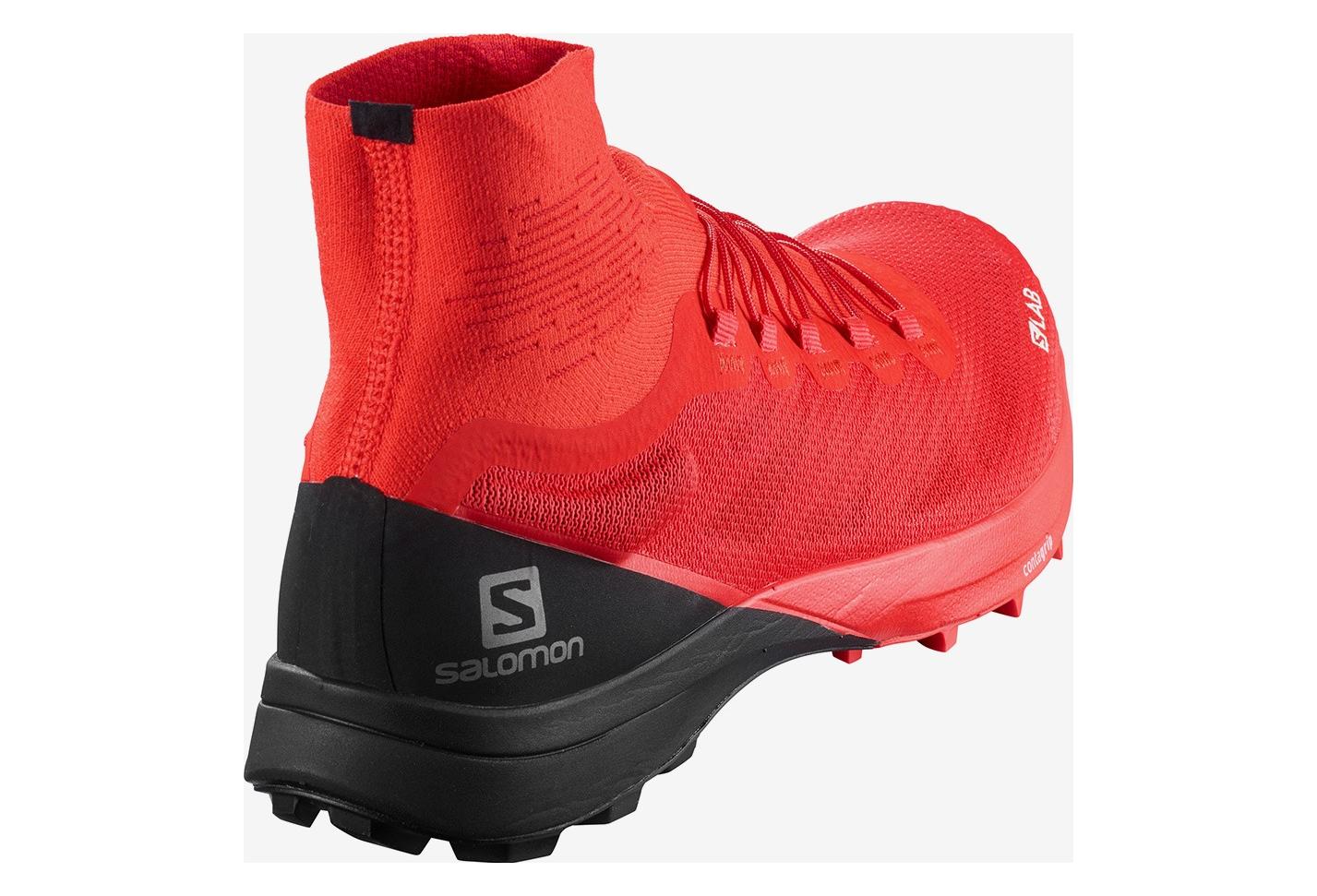 Salomon S/LAB Sense 8 SG Red Black