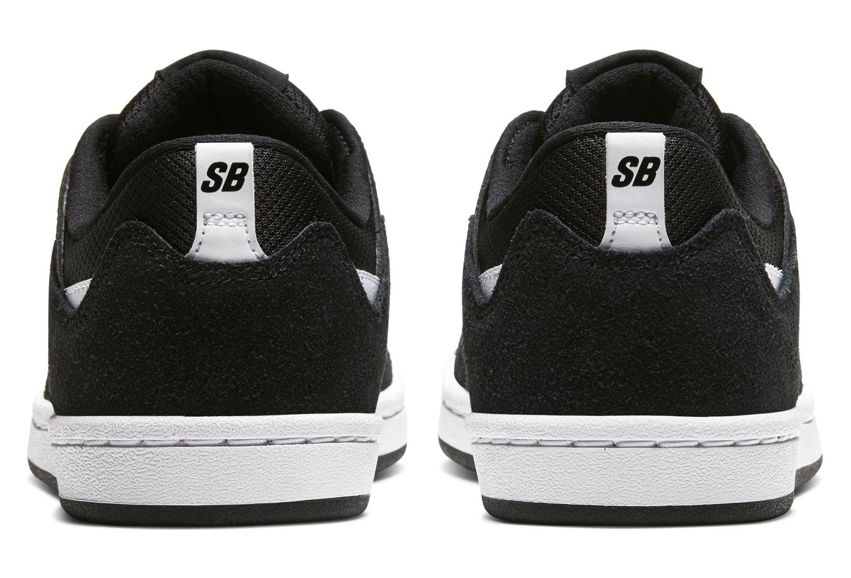 Nike SB Alleyoop Black / White Kids Shoes   Alltricks.com