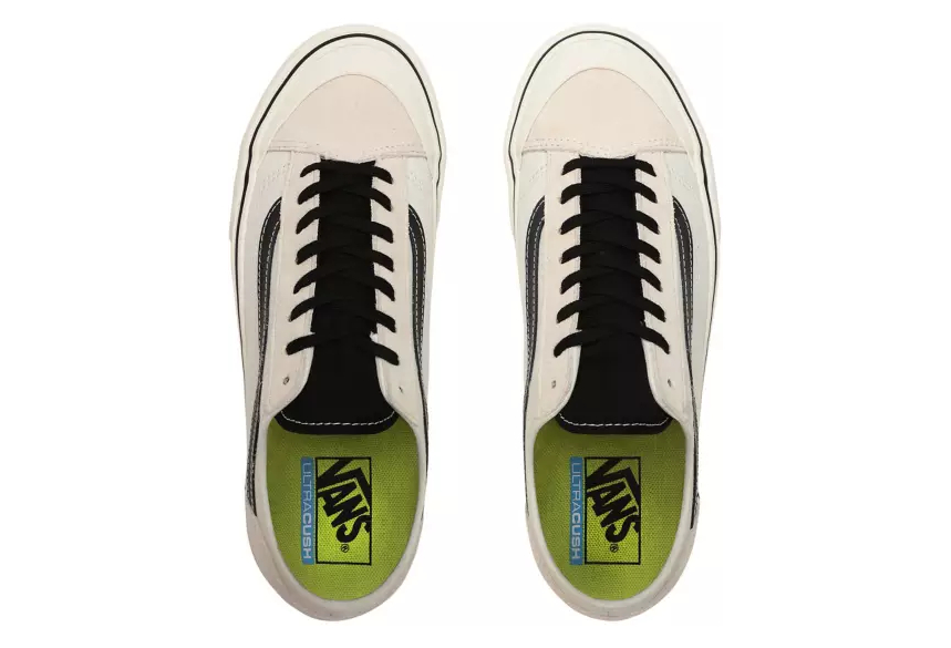 Chaussures Vans V66 Style 36 Decon Surf Marshmallow