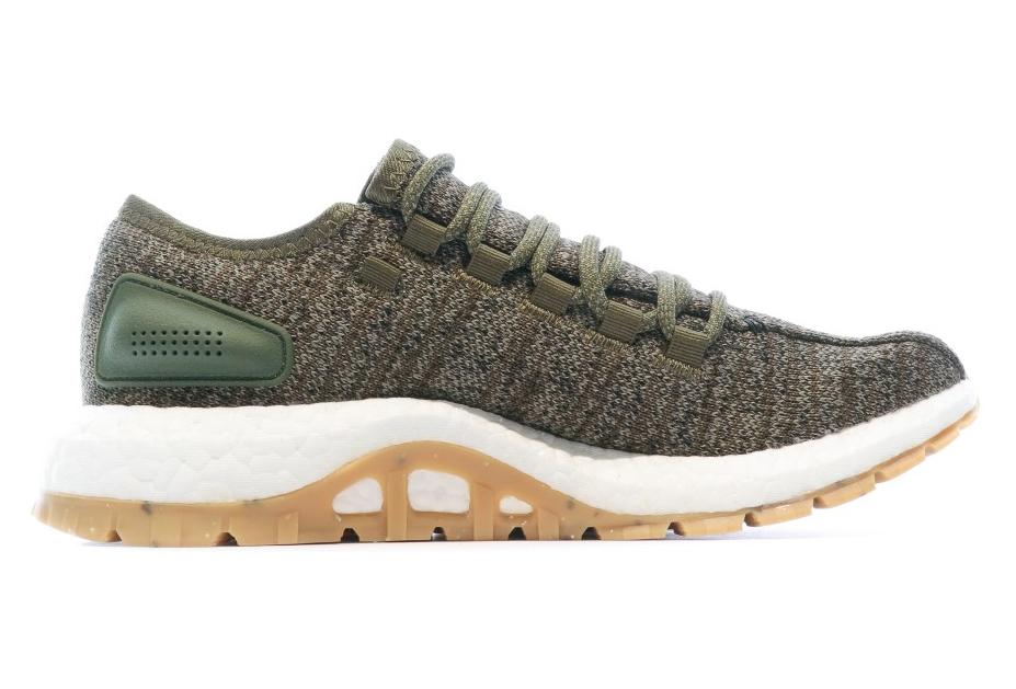 PureBOOST Chaussures de Running Kaki Homme Adidas | Alltricks.fr