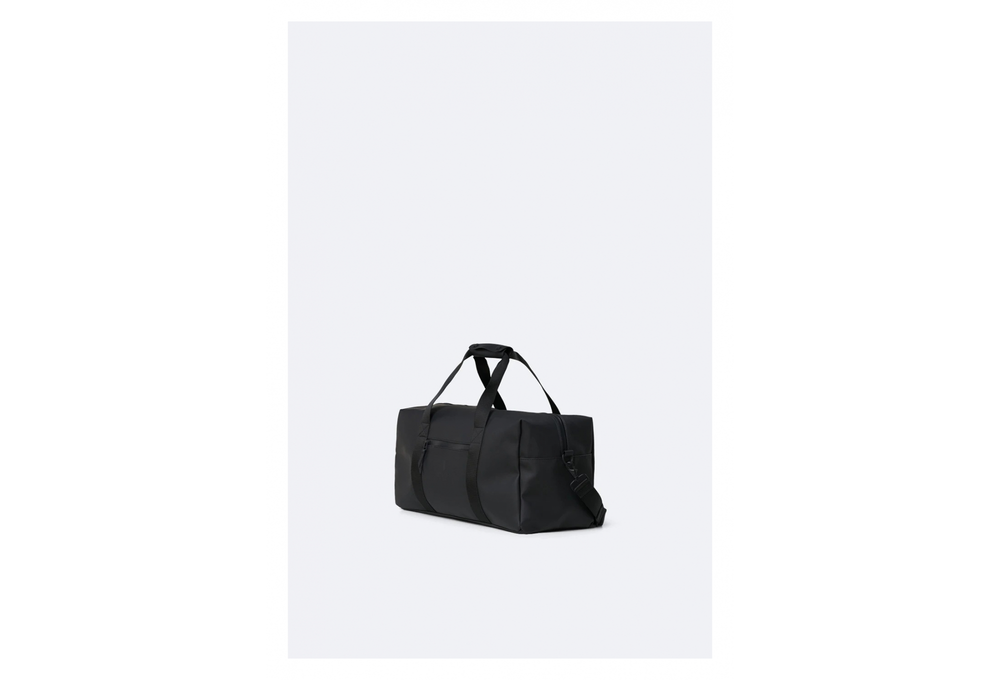 Gym Bag Sac De Voyage Imperm/éable Unisexe Noir RAINS Mod