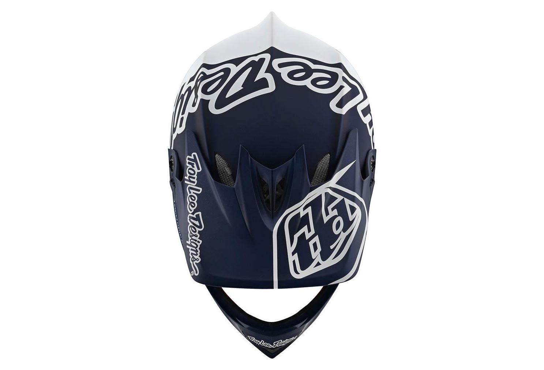 Troy Lee Designs 2020 D3 Fiberlite Mountain Vélo Casque silhouette Blanc//Bleu Marine Toutes Les Tailles