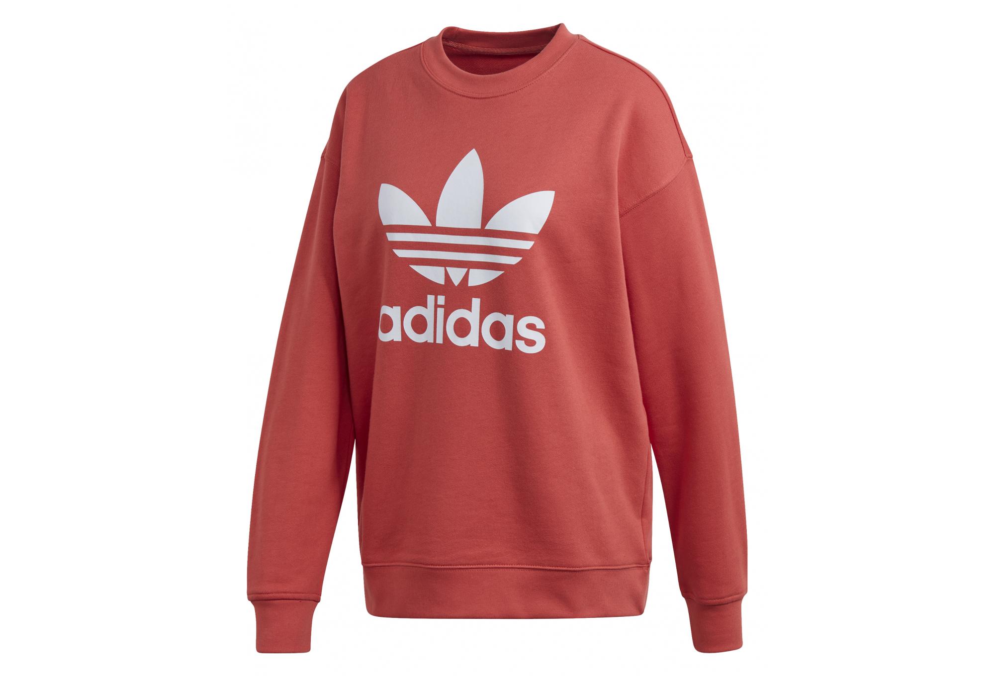 Sweatshirt femme adidas originals Trefoil Crew | Alltricks.com