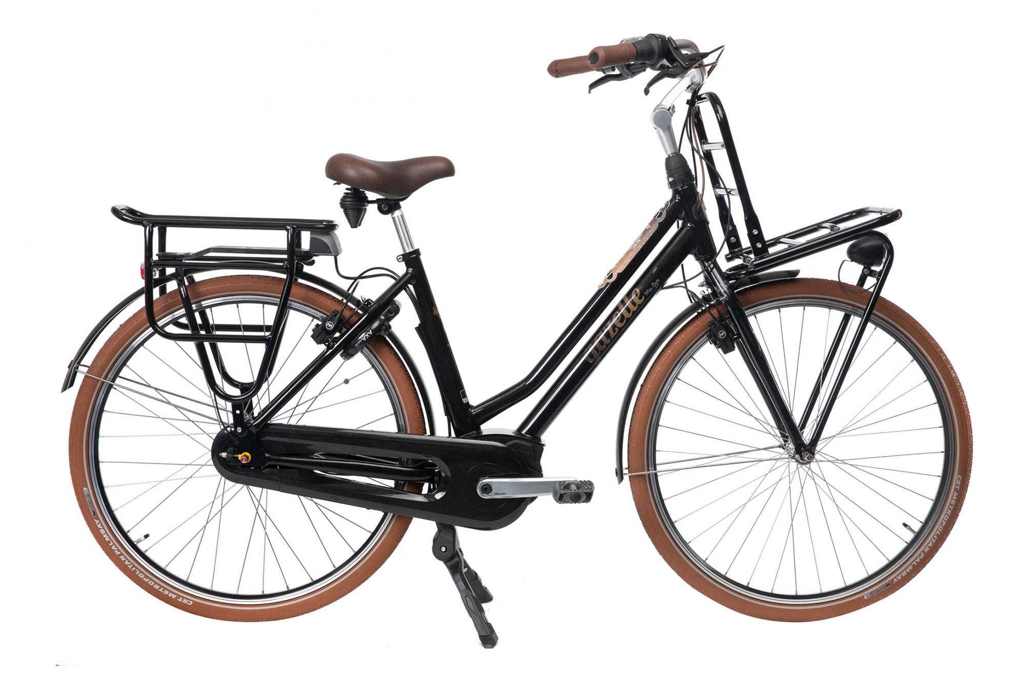 Gazelle-Luggage Carrier Innergy E-Bike Heavy Duty Miss Grace White