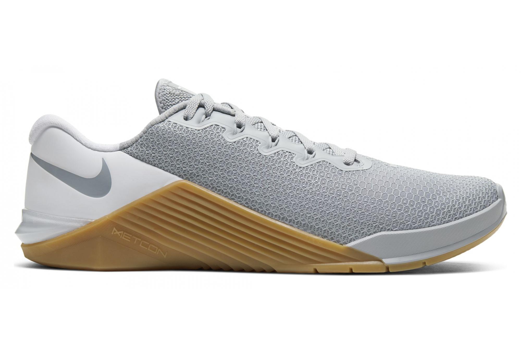 Nike Metcon 5 Gray White Gum Unisex