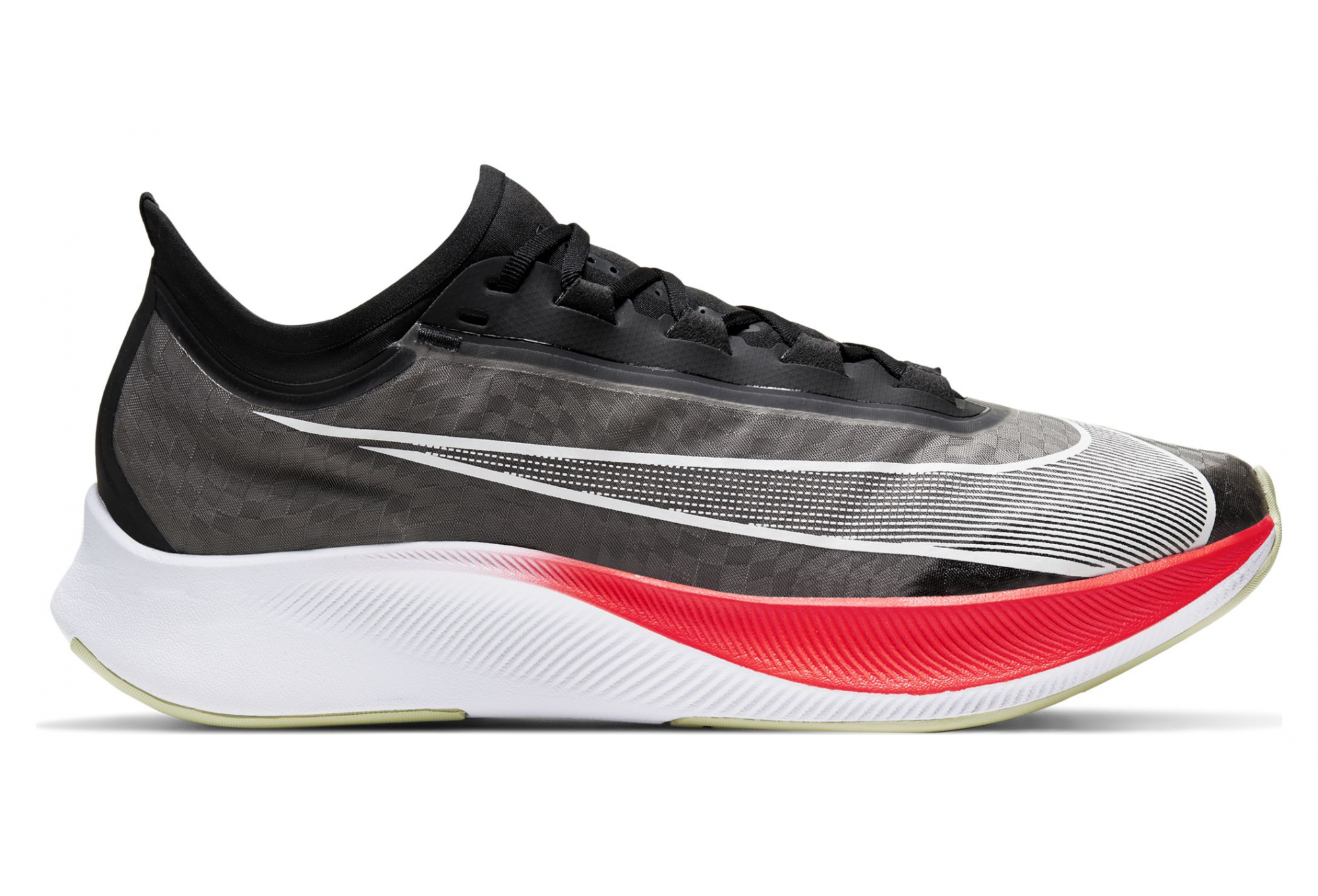 Nike Zoom Fly 3 Black Red Mens