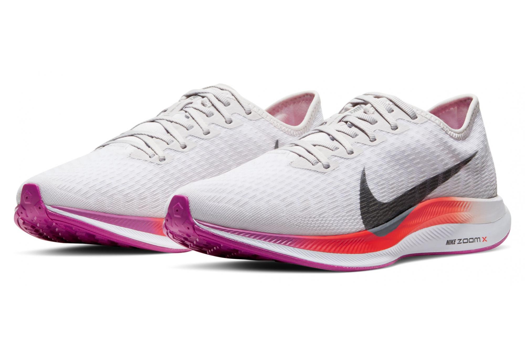 Chaussures de Running Femme Nike Zoom Pegasus Turbo 2 Blanc ...