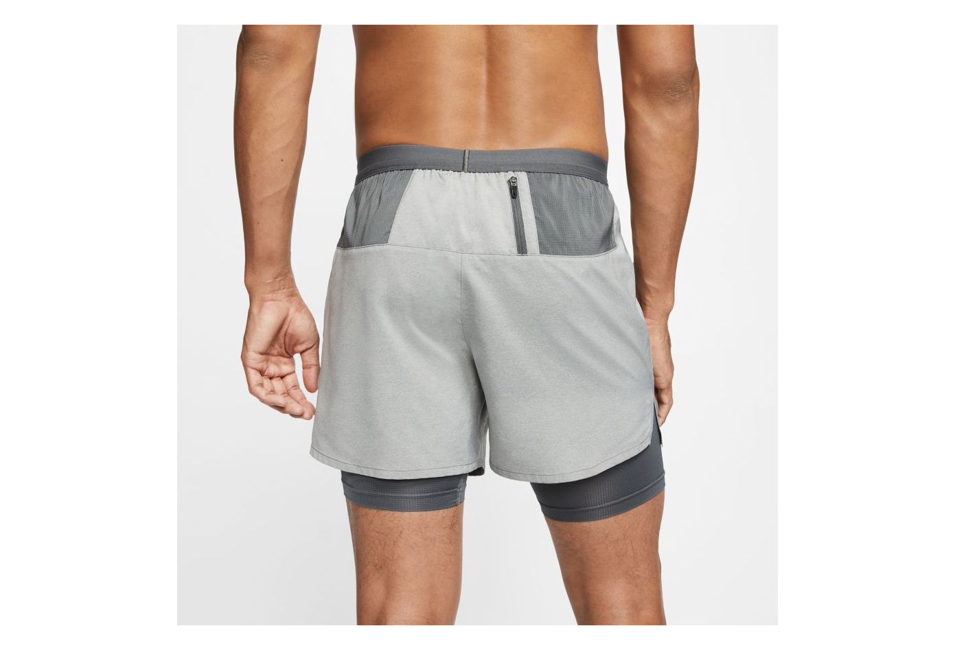 Blanco vistazo monitor  Nike Flex Stride 5 '' 2-in-1 Shorts Grau Herren | Alltricks.de