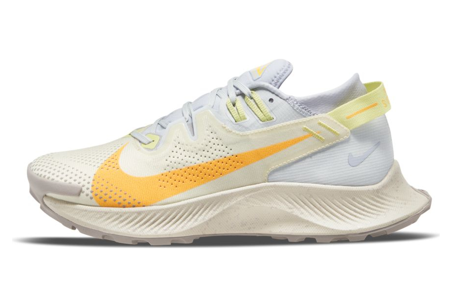 Nike Pegasus Trail 2 Blanco Naranja Mujer