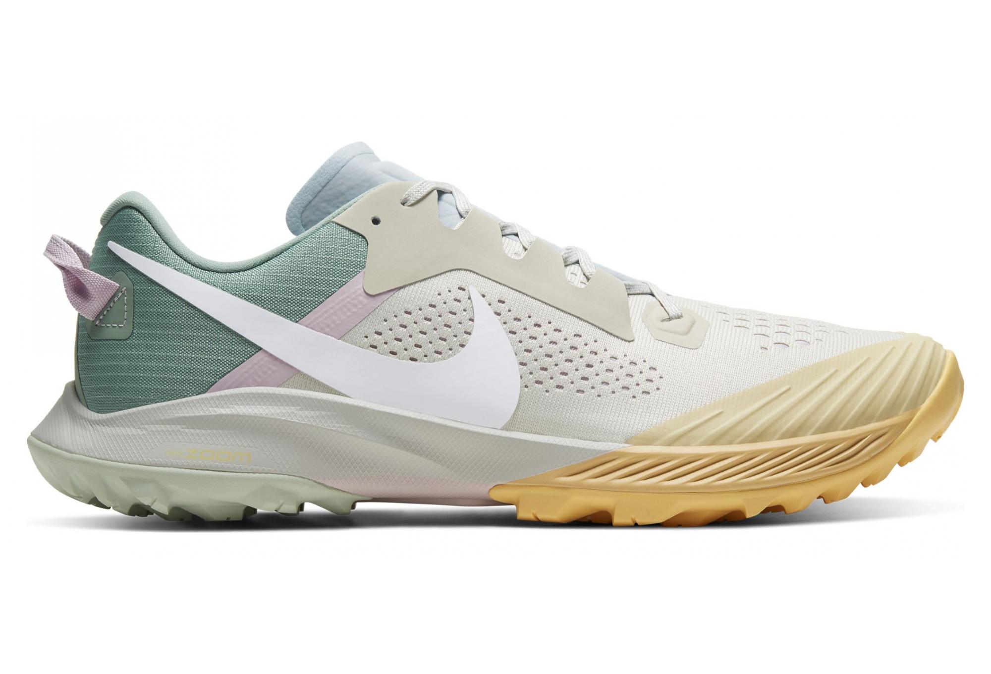 bolso Dormitorio Palpitar  Nike Air Zoom Terra Kiger 6 Beige Green Mens | Alltricks.com