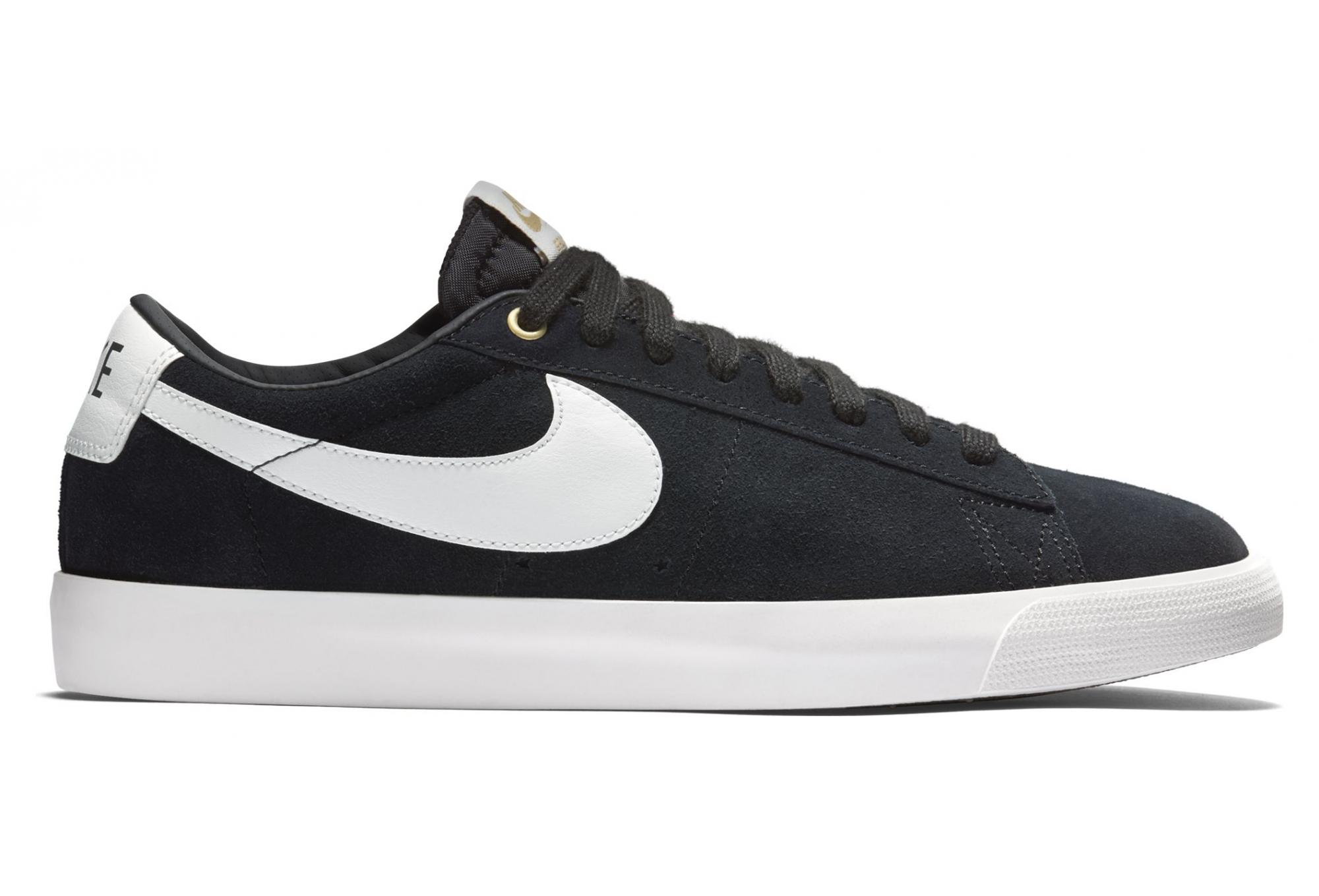 Nike SB Blazer Low GT Sneaker Black White   Alltricks.com
