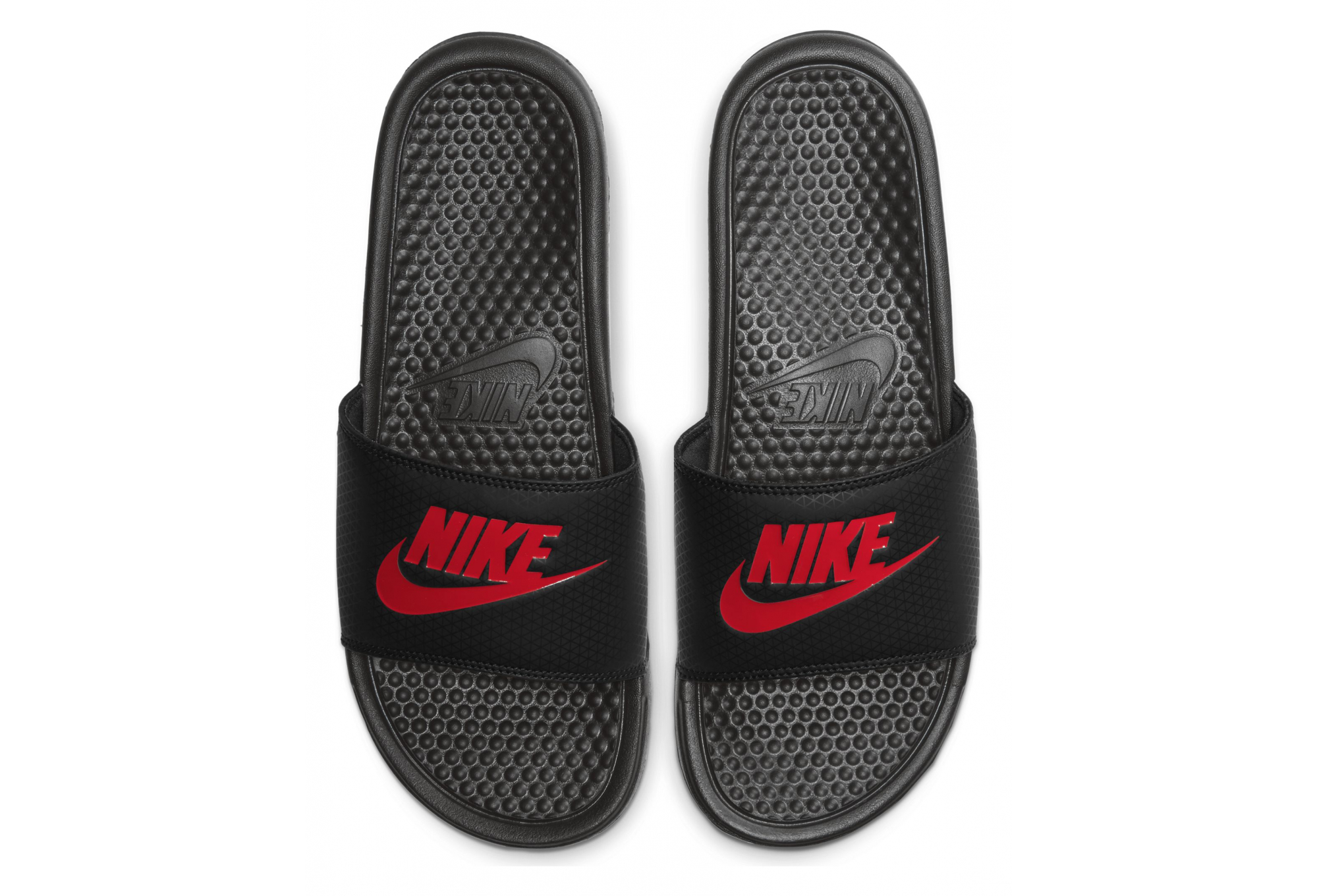 Nike Benassi Black Red | Alltricks.com