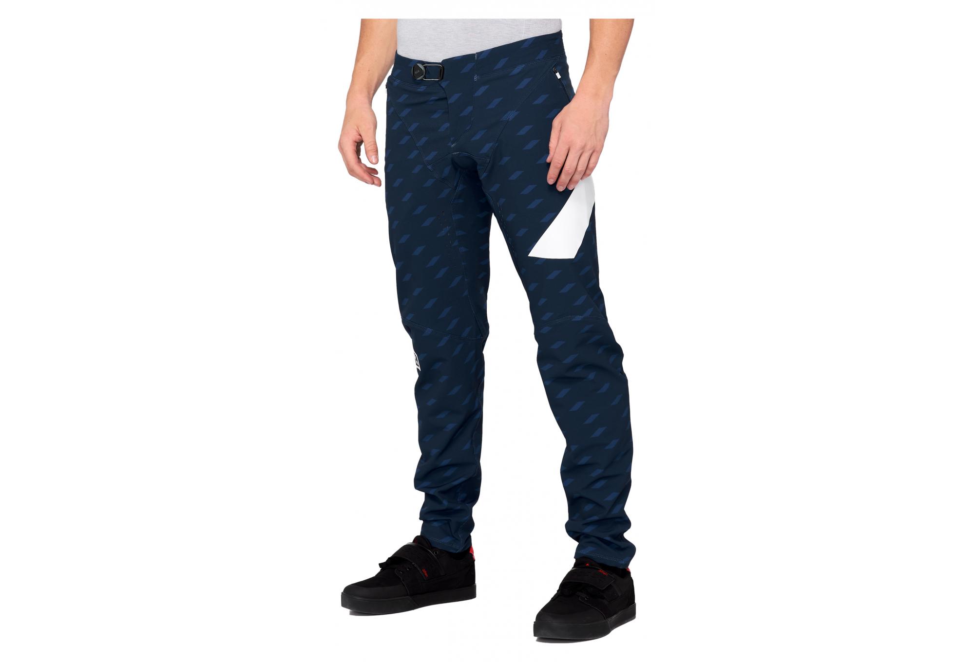 Pantalones 100 R Core X Limited Azul Blanco Alltricks Es