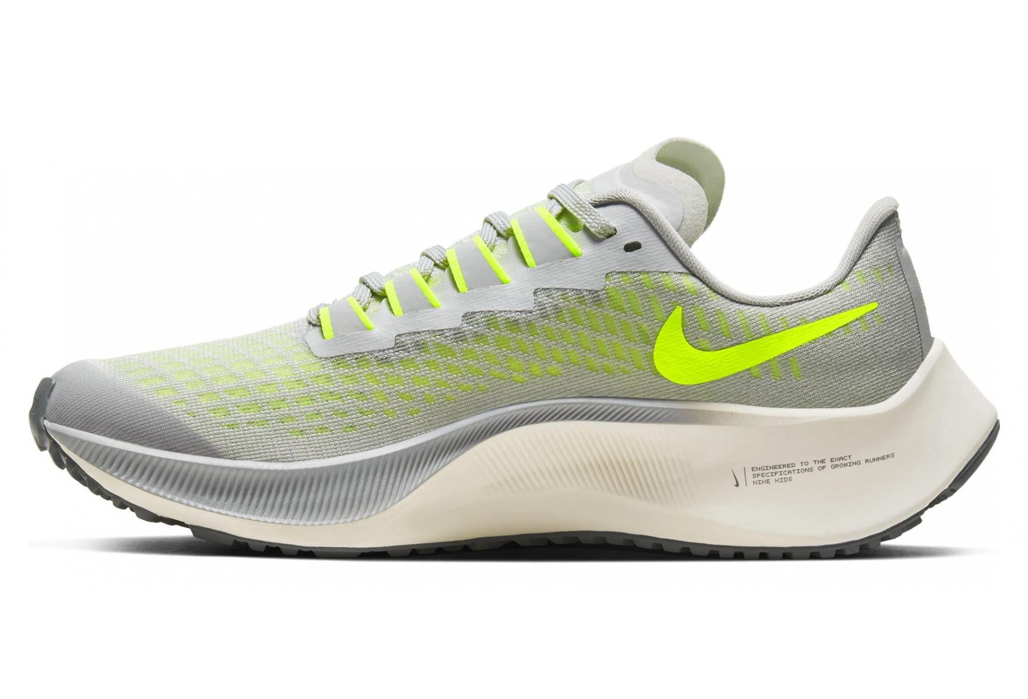 Nike Air Zoom Pegasus 37 Gris Jaune enfant