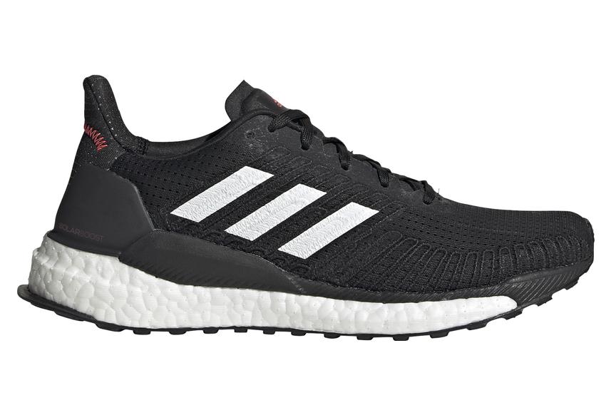 Zapatillas Running Adidas Solar Boost 19 Mujer Negras Blancas