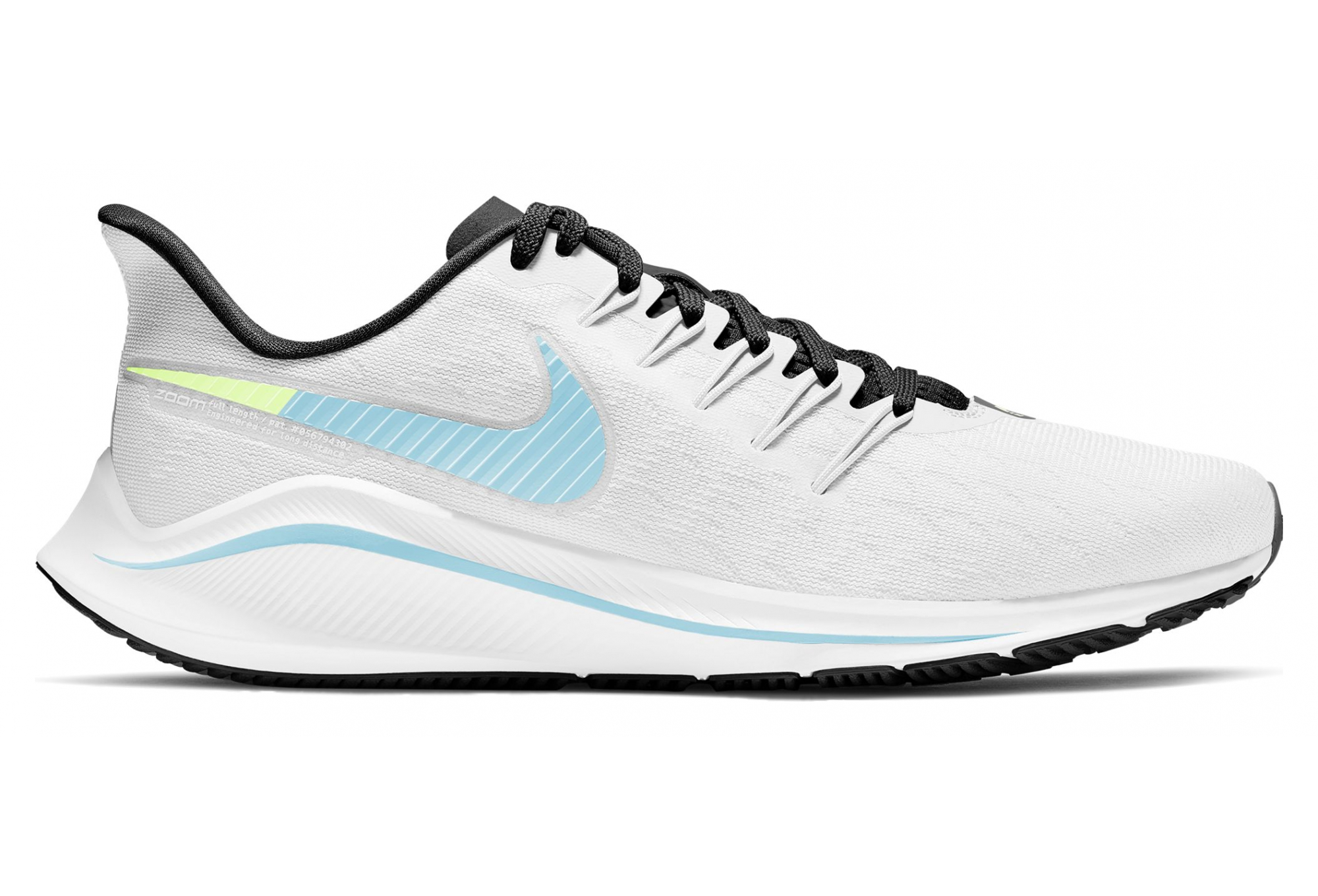 coerente Auroch Nutrizione  Nike Air Zoom Vomero 14 White Blue Women | Alltricks.com