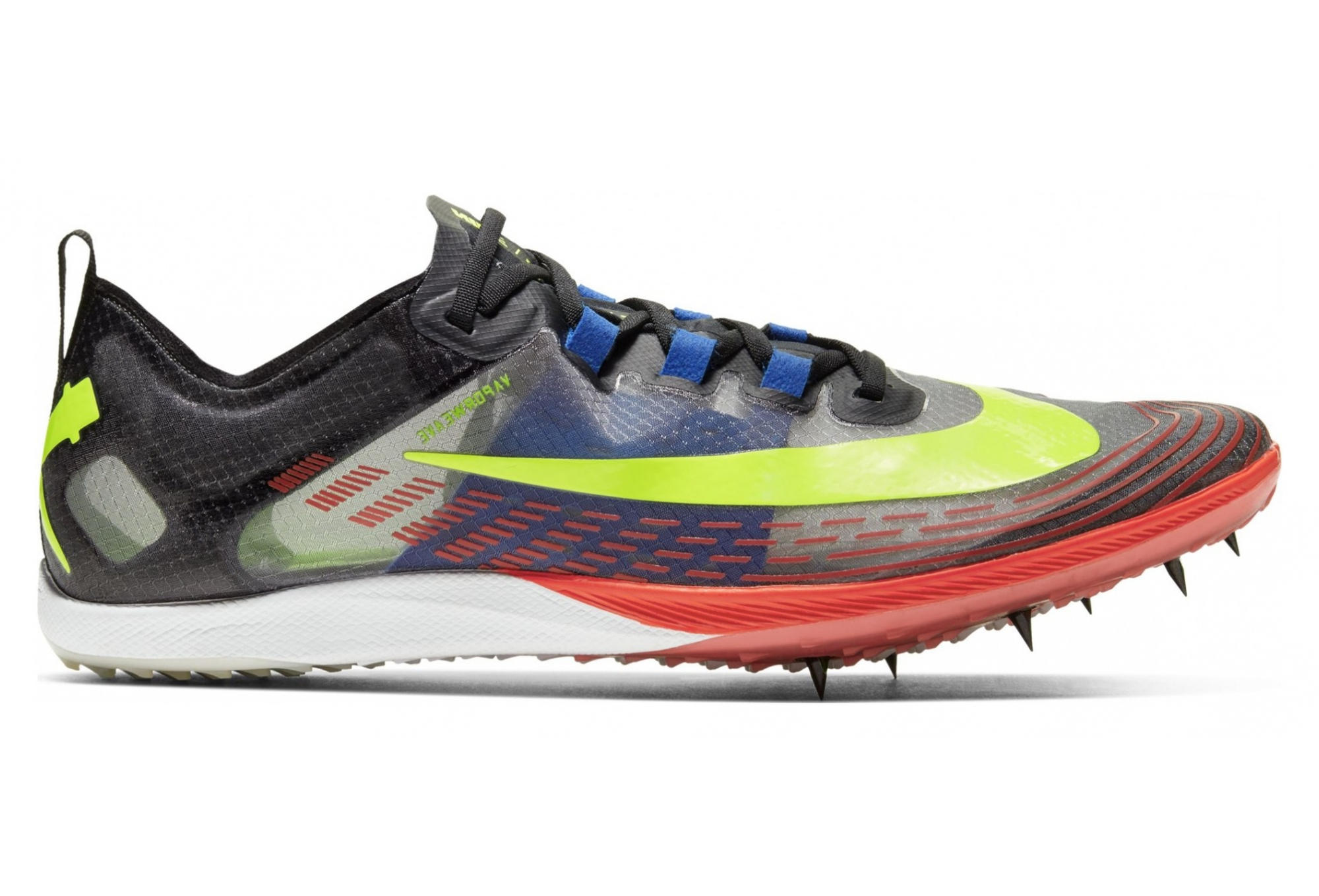 Pair of Cross Shoes Nike Zoom Victory 5 XC Black Multi-color Unisex