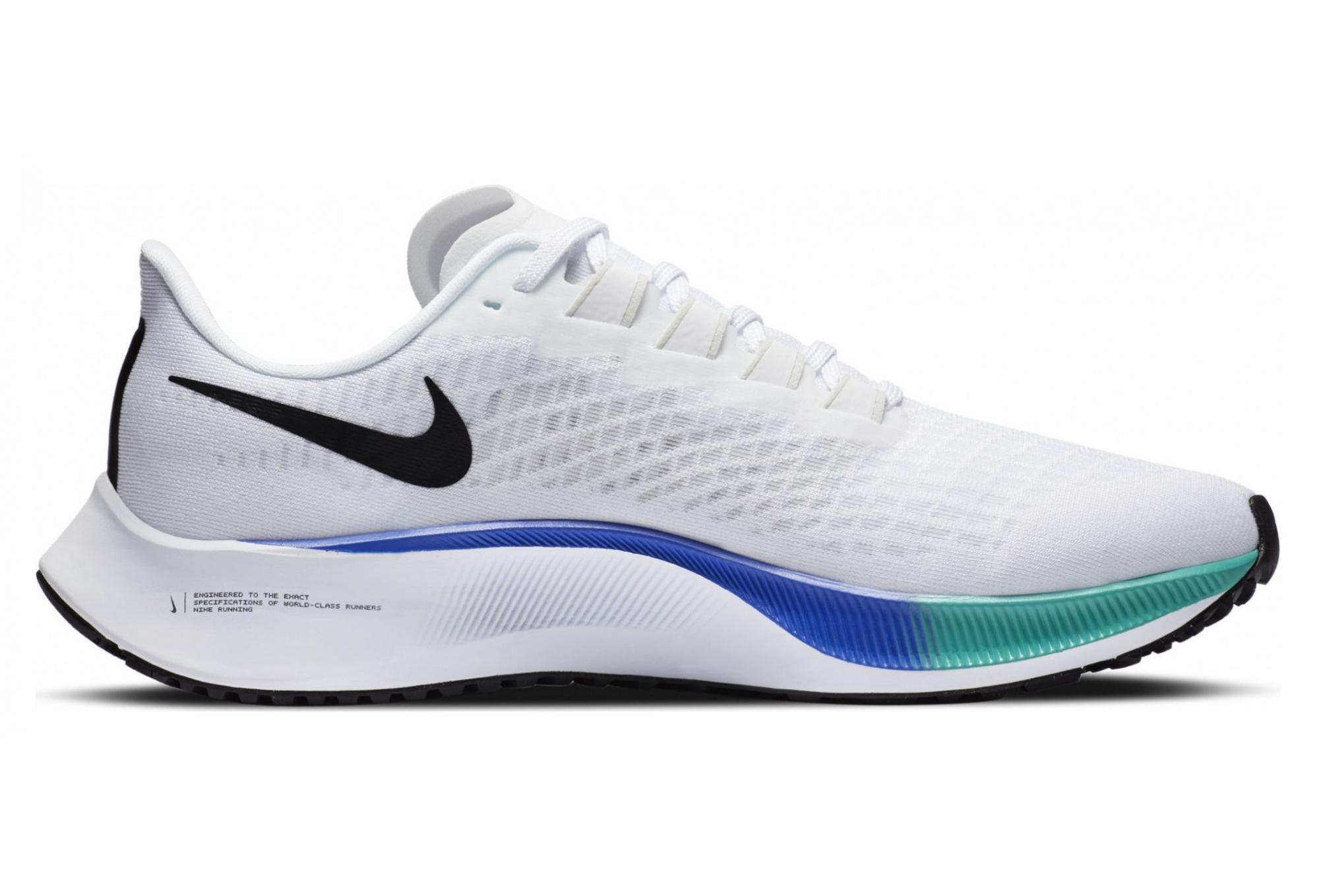 Chaussures de Running Nike Air Zoom Pegasus 37 Blanc / Multi ...