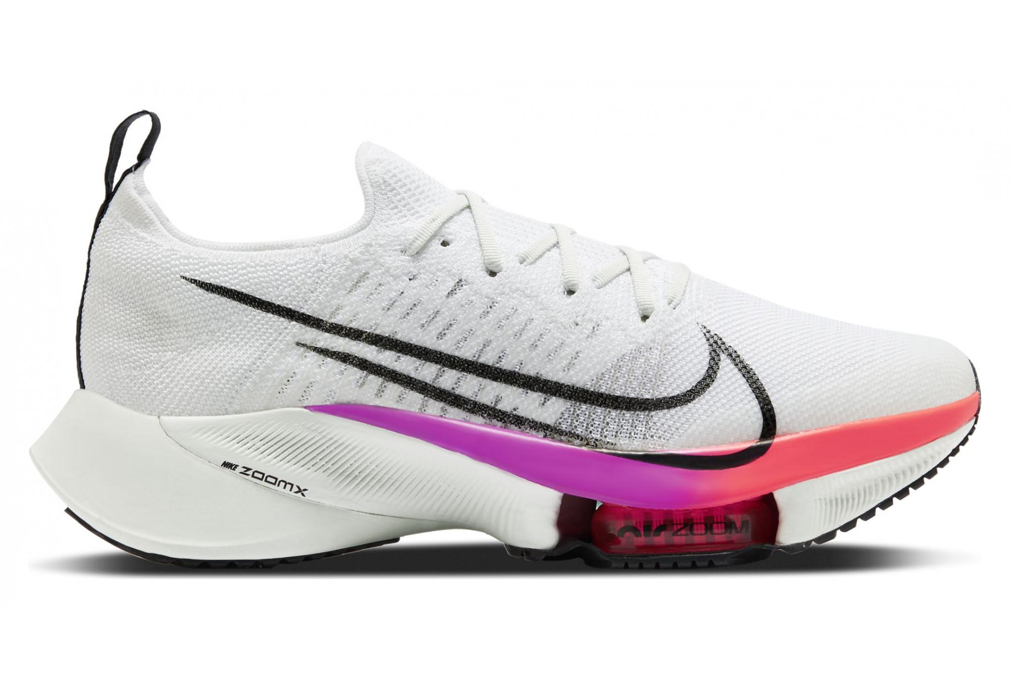 Chaussures de Running Nike Air Zoom Tempo Next% Blanc / Multi ...