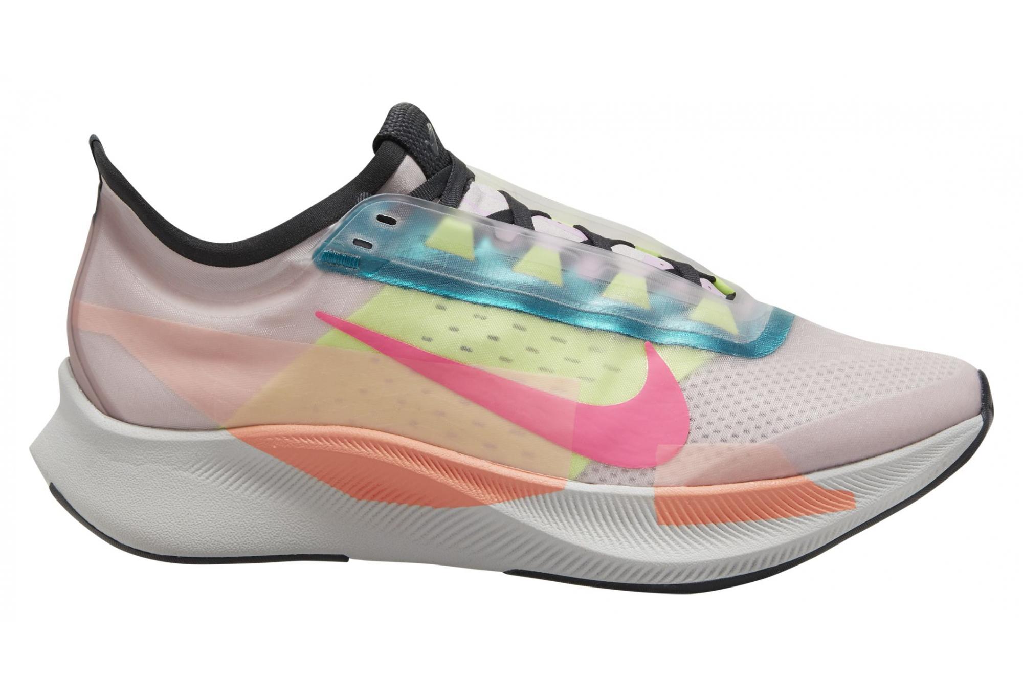 Chaussures de Running Femme Nike Zoom Fly 3 Premium Rose / Multi ...
