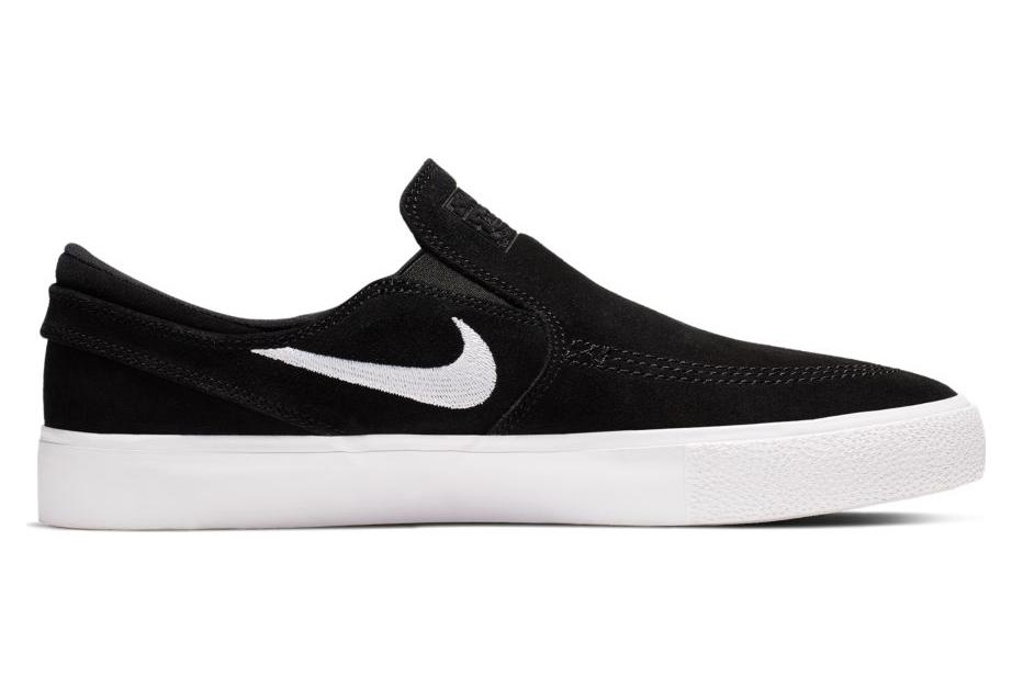 Nike SB Zoom Stefan Janoski Slip RM Black White Skateboarding Shoe