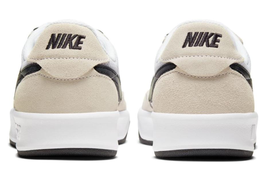 Nike SB Adversary White Black Skateboarding Shoe