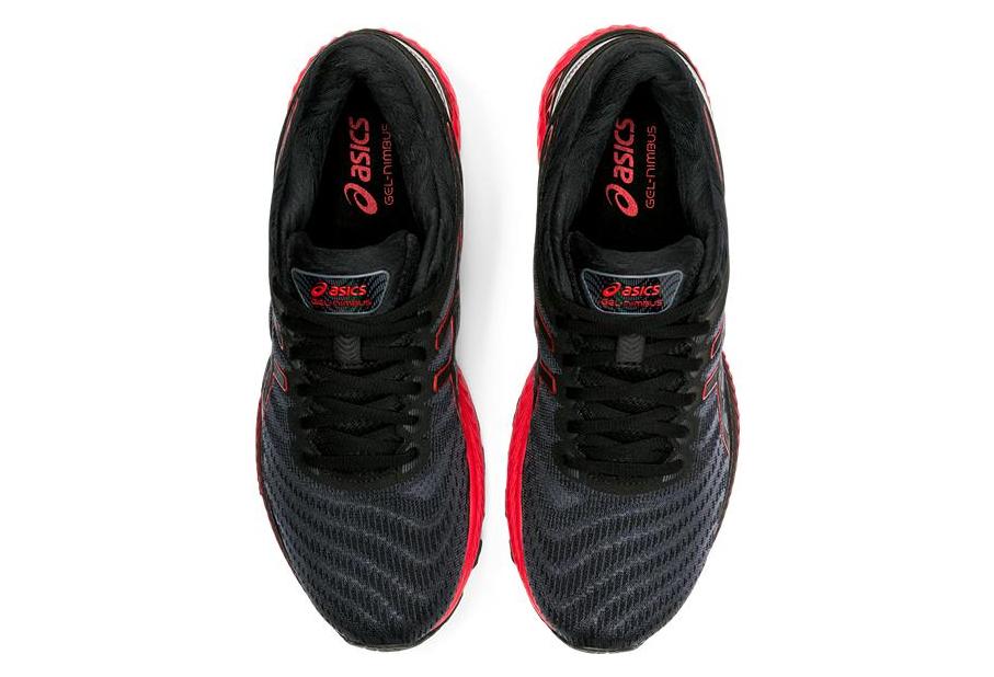 Chaussures de Running Asics Gel Nimbus 22 Noir / Rouge   Alltricks.fr