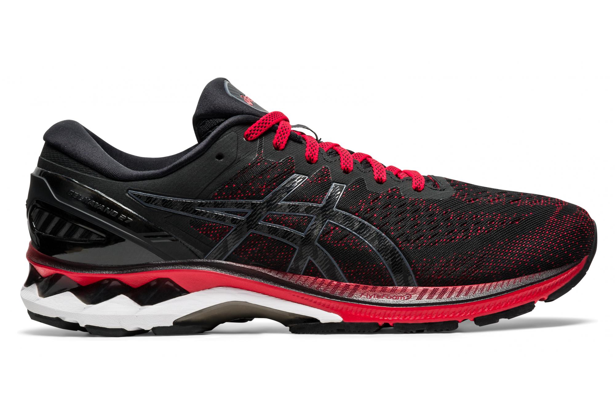 Chaussures de Running Asics Gel Kayano 27 Noir / Rouge   Alltricks.fr