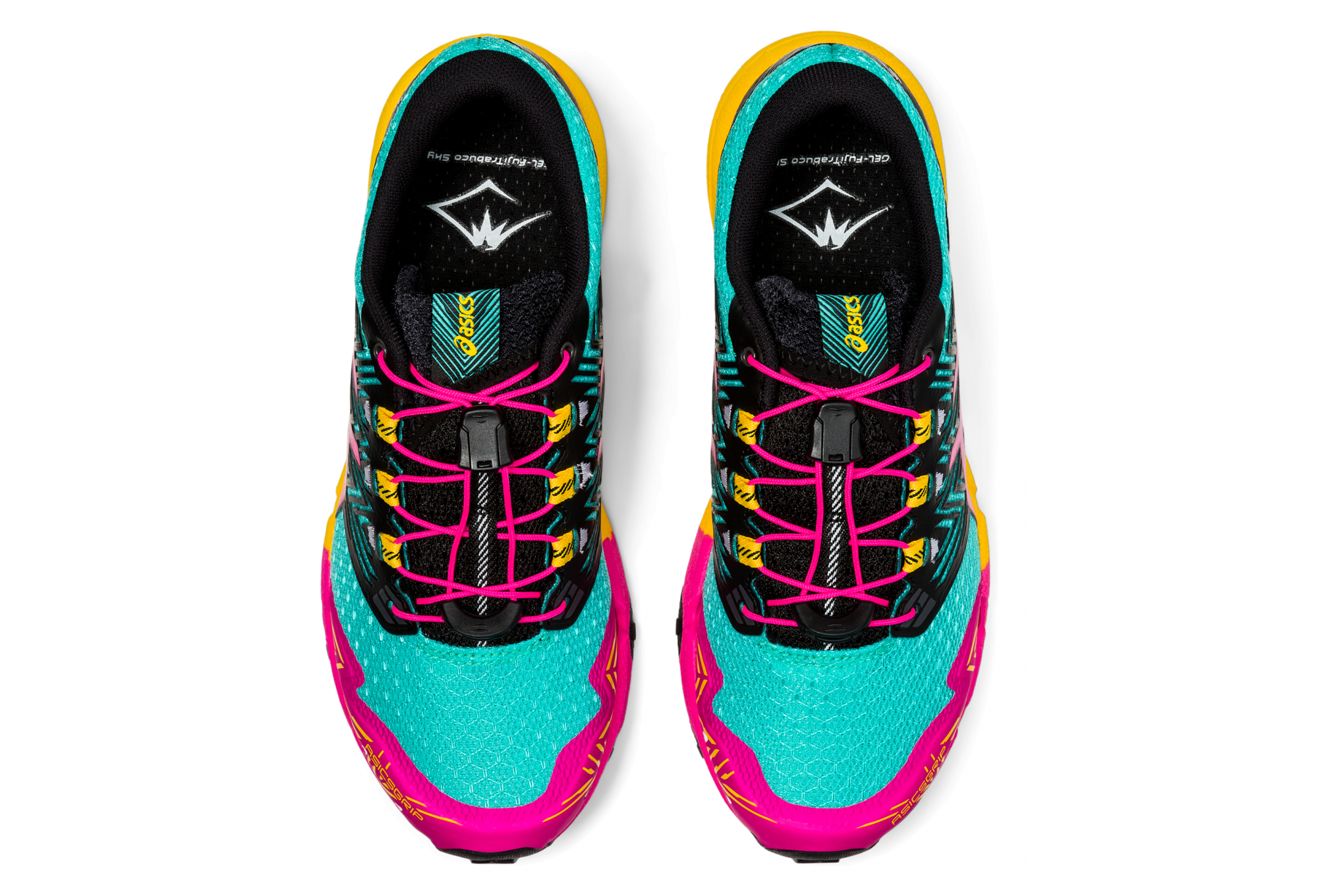 Chaussures de Trail Femme Asics FujiTrabuco Sky Multi-couleur ...