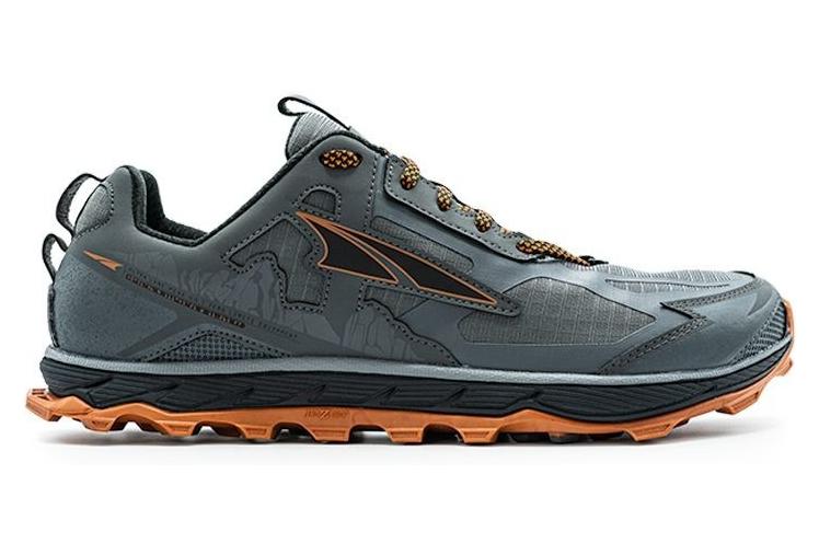 Shoes Altra Lone Peak 4.5 Gray Orange