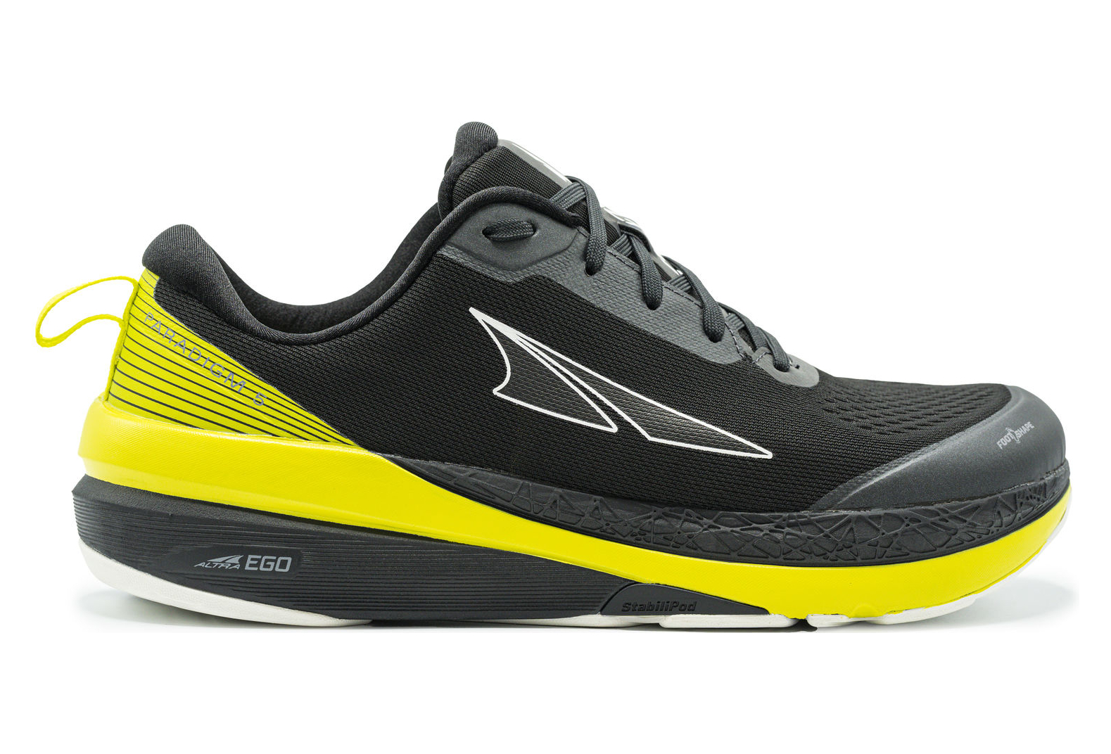 Altra Paradigm 5 Shoes Black Yellow Men