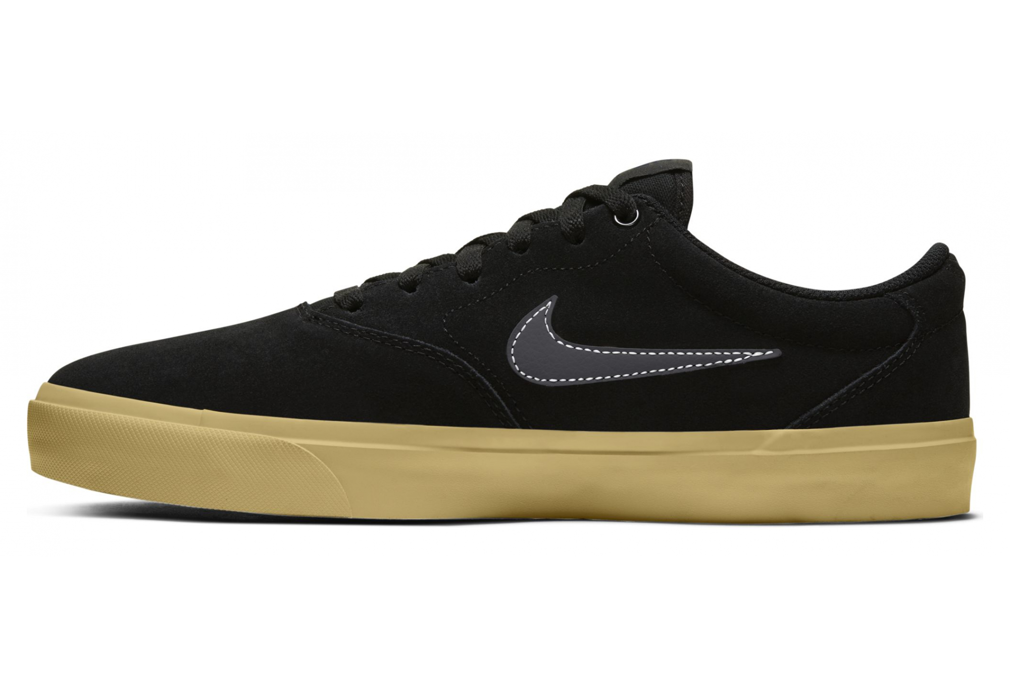 Chaussures Nike SB Charge Suede Noir Gris
