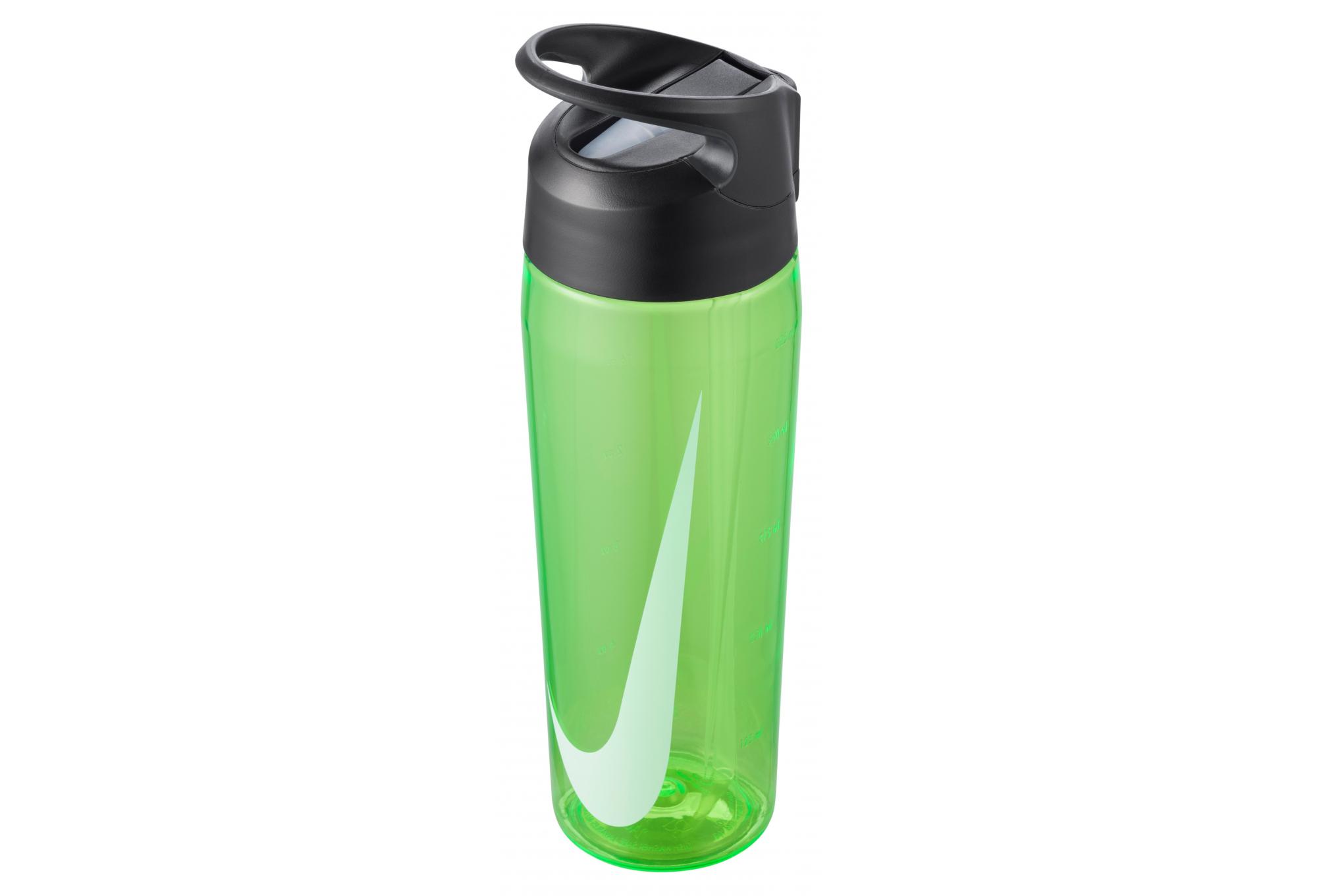 Arsenal Cada semana barril  Botella de agua Nike TR Hypercharge Straw 700ml verde | Alltricks.es
